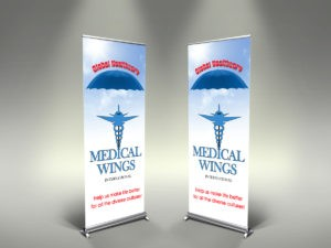 roll up banners Chicago company