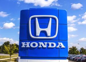 Honda custom sign